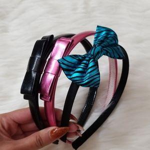 3 piece bow headband bundle!!!